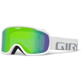 Giro Cruz Goggles, white wordmark/loden green
